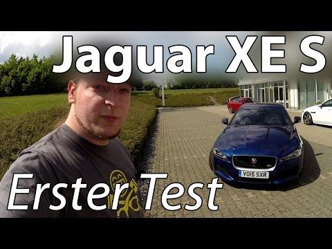 Neuer Jaguar XE S V6 - Erste Testfahrt mit Sound! Probefahrt / Review
