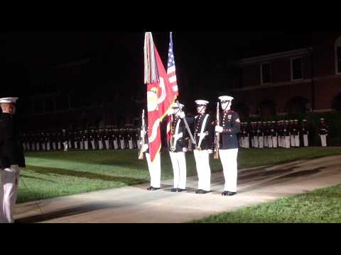 Marine Corps Color Guard 5-3-13