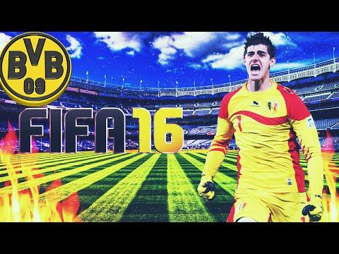 FIFA 16 BVB09  - Thibaut Courtois Ingerul Salvator din SuperDerby!!!