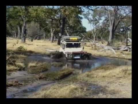 4x4 Trekking in Africa (Part 1 Highway travel and Botswana and Namibia)