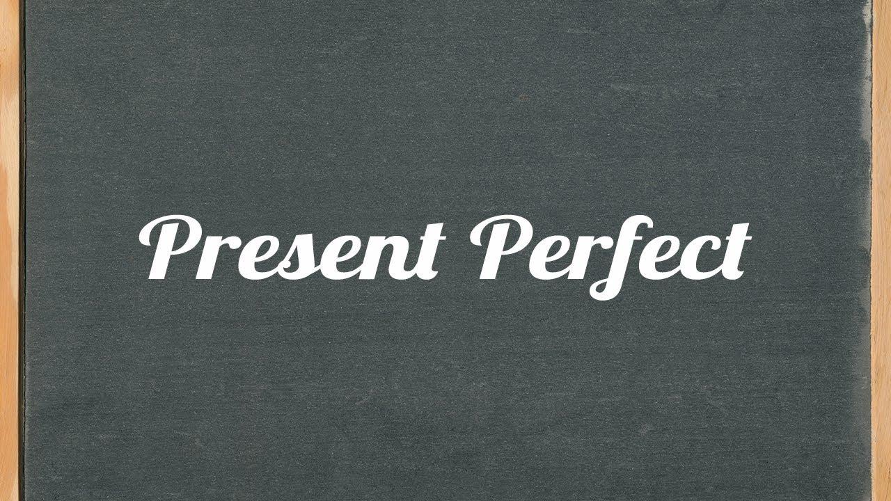 Present Perfect Formula Present Perfect Tense