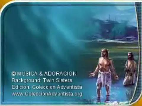 Instrumentales Adventistas en Karaoke - 09 En las aguas de la muerte - Himno Adventista.wmv