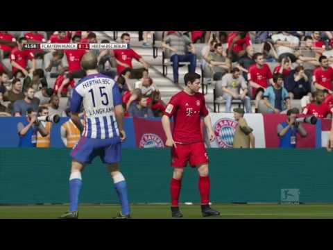 FIFA 16 FC Bayern München vs. Hertha BSC @ Allianz Arena