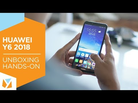 Huawei Y6 2018 Unboxing, Hands-On