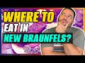 Where to Eat in New Braunfels TX