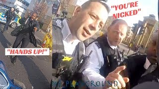 police GRAB who they think is a BIKE THIEF- except he's INNOCENT
