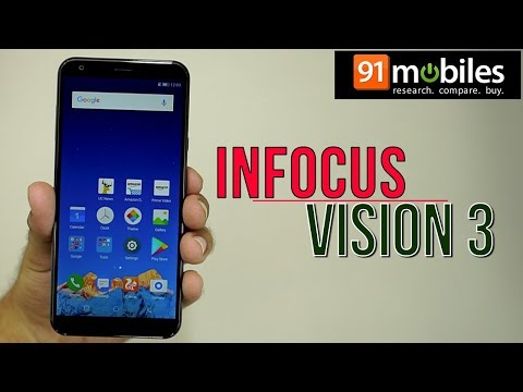 Infocus Vision 3: Unboxing | Hands on | Price Rs 6999 [Hindi-हिन्दी]