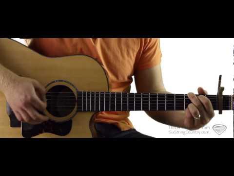 Roller Coaster - Guitar Lesson and Tutorial - Luke Bryan