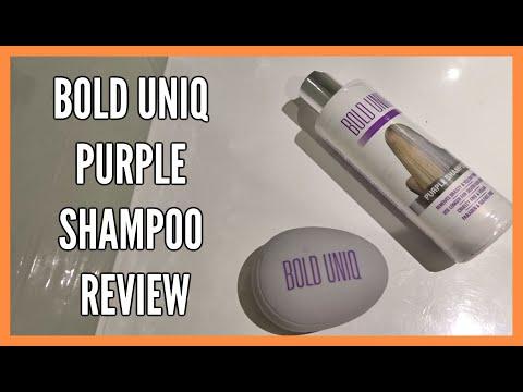 BOLD UNIQ PURPLE SHAMPOO REVIEW