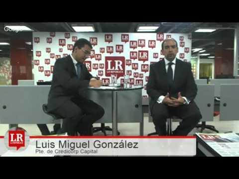 Luis Miguel González / Presidente de Credicorp Capital