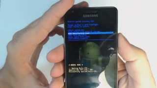 Samsung Galaxy S2 I9100 hard reset