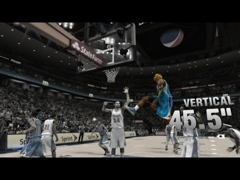 NBA 2K13 My Career Playoffs CFG4 - Lob Cheese