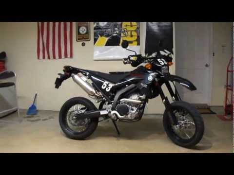 2009 Yamaha Super Moto WR250X with Yoshimura Exhaust