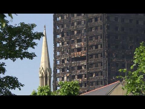 Aumentan a 17 los muertos por incendio del edificio en Londres