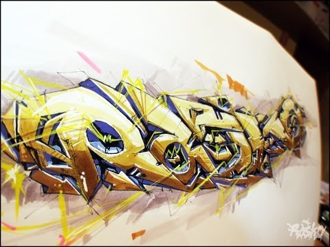 Mad drawing by Rasko. Graffiti Art 2013 NEW!