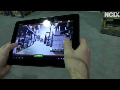 Parrot AR.Drone 2.0 Review. Video Capture. Range Test & Showcase NCIX Tech Tips