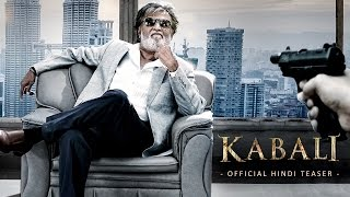 Kabali Movie | Official Hindi Teaser | Rajinikanth | Radhika Apte | Pa Ranjith