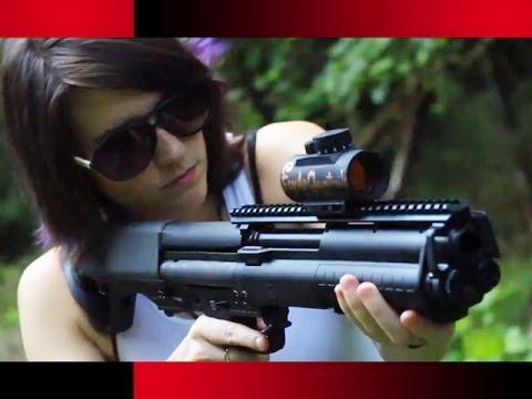 Kel-tec Ksg 12 Gauge Shotgun Ksg 12 Gauge Shotgun Test