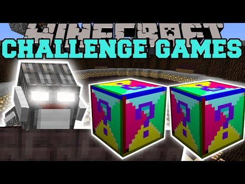 Minecraft: CYCLOPS GOLEM CHALLENGE GAMES - Lucky Block Mod - Modded Mini-Game