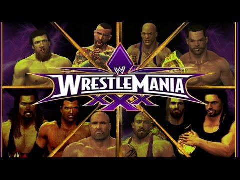 Wwe 2k14: Wrestlemania 30 (custom Matches & Promos) - Part 1 video