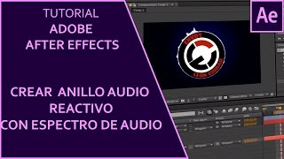 Como crear un espectro de audio a ritmo de la música (audio reactivo) | After Effects Tutorial