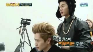 Jackson (GOT7) & Yook Sungjae (BTOB) Funny