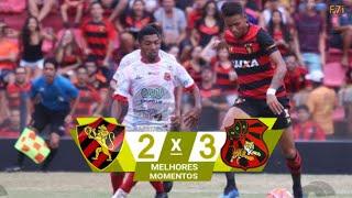 Sport 2 x 3 Flamengo Arcoverde - Melhores Momentos & Gols - Campeonato Pernambucano