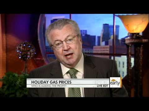 Weakening dollar fueling high gas prices
