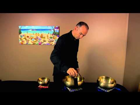 Tibetan Singing Bowl Live Studio Session 1 - 40 mins Long