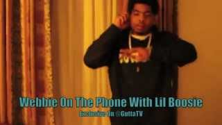 Webbie Video - Lil Boosie Calls Webbie During His Show Live From Prison