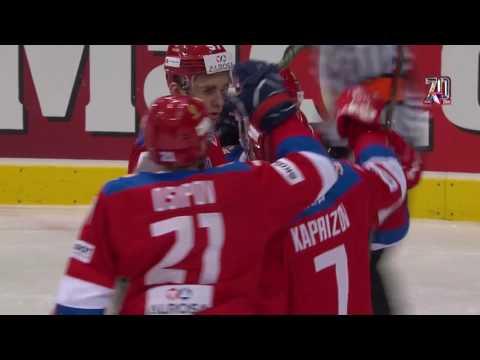 Евротур. Шведские хоккейные игры-2017. Россия - Чехия - 4:2. Голы и опасные моменты