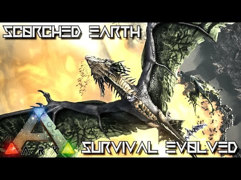 ARK SURVIVAL EVOLVED - NEW UPDATE SCORCHED EARTH !!! (Spotlight)