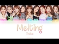 TWICE (트와이스)- Melting (녹아요) (Color Coded) (HAN/ROM/ENG) Lyrics thumbnail