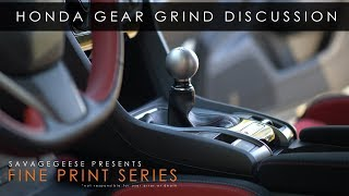 Honda Civic Type R Gear Grinds | The Fine Print