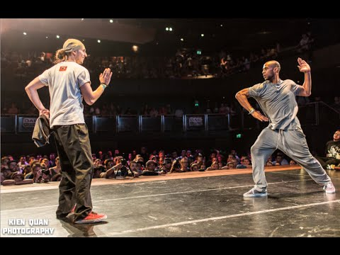 IBE 2014 | UK Champs Finals Popping | Gator vs Poppin C