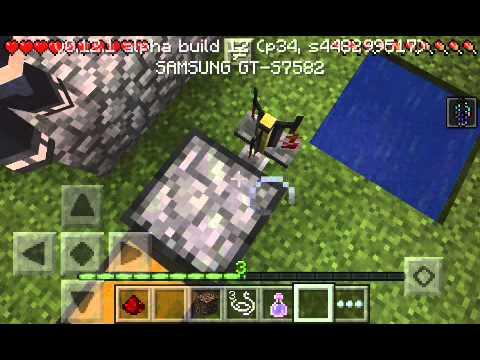 Minecraft Pe[0.12.1] วิธีทำยาล่องหน+มองการคืน