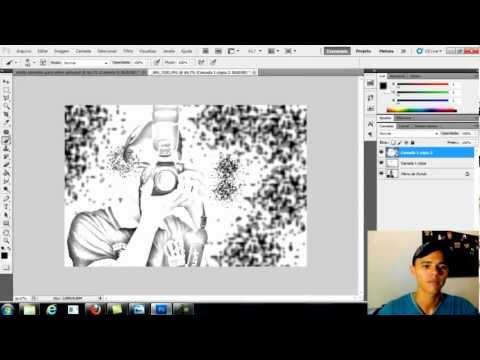 Como fazer uma foto virar desenho no photoshop