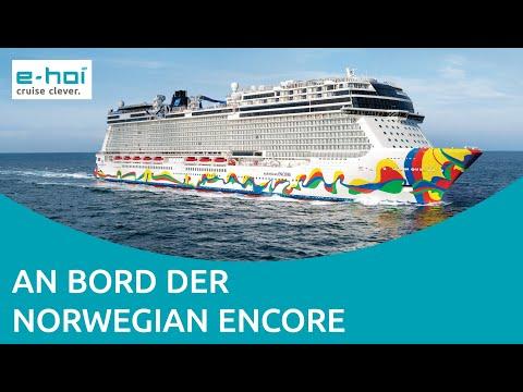 e-hoi an Bord der Norwegian Encore - Kreuzfahrt auf einem neuen Level