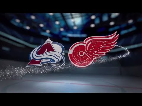 Colorado Avalanche vs Detroit Red Wings - November 19, 2017 | Game Highlights | NHL 2017/18. Обзор