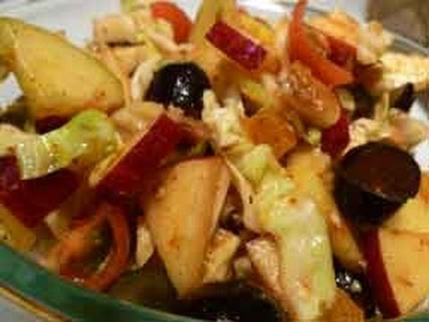 Fruit and Vegetable Summer Salad Recipe