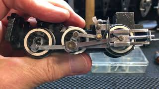 Three Project Update III: Restore 0-6-0 21004, chassis, side rod, cross head assembly, test tender