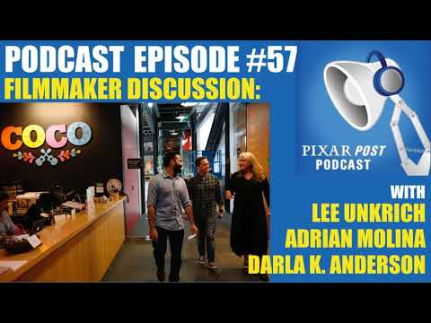 Pixar Post Podcast 057: Sit Down With Coco's Filmmakers - Lee Unkrich, Adrian Molina & Darla K....