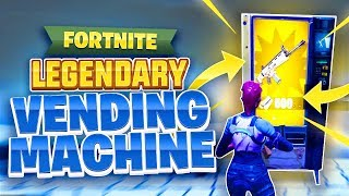 *NEW* LEGENDARY VENDING MACHINE LOCATIONS IN Fortnite Battle Royale!