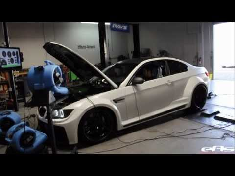 eas   2011 Widebody VF620 Supercharged BMW M3 Dyno