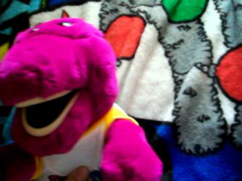 both of my barney the backyard gang dolls review