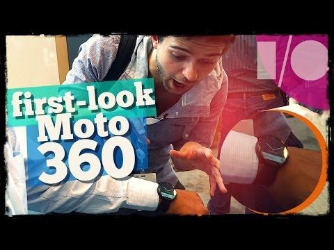 Быстрый обзор  часов Moto 360 от Droider.ru