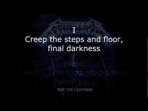 Metallica - Ride The Lightning Album Lyrics (HD)