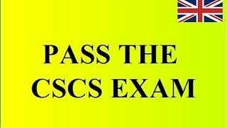 CSCS Exam: Pass the Health, Safety & Environment Test for Operatives!