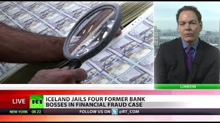 Iceland jails four 'banksters' in financial fraud case