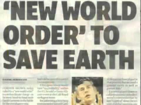 China New World Order 9/11 New World Order Plan